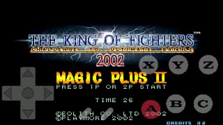 Tiger Arcade + The King Of Figther 2002 Magic Plus 2  Para Android