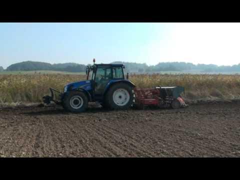 Siew pszenicy 2010 New Holland t5060 & Zetor 1224