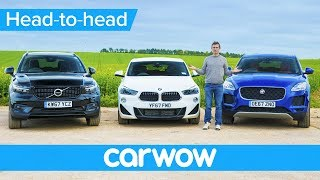 BMW X2 vs Volvo XC40 vs Jaguar E-Pace - which is the best small SUV? | Head-2-Head