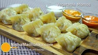 Veg Momos recipe - Steamed Momos - Vegetable Dim Sum - Chinese veg momos