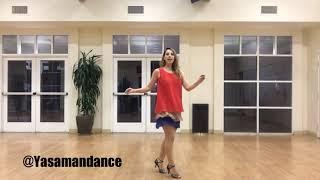 Amoozesh raghs Irani-Khanoomam- Session 4-آموزش رقص ایرانی با آهنگ خانومم از داوود چرگری- جلسه چهارم