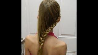Cascade Braid / Summer hairstyle /  Bonita Hair Do