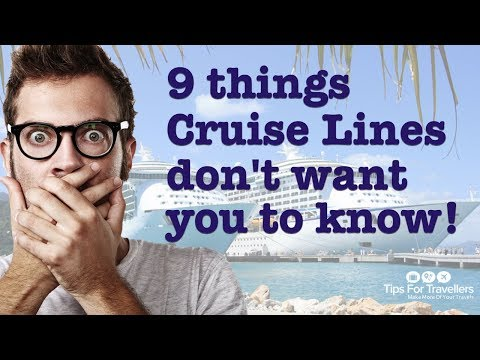 Xxx Mp4 9 Things Cruise Lines Don 39 T Want You To Know And Won 39 T Tell You 3gp Sex