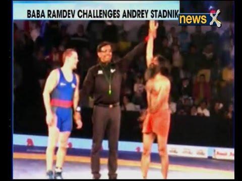 PWL 2: Baba Ramdev shows off Yoga prowess; hammers Beijing silver medallist Andrey Stadnik 12-0!