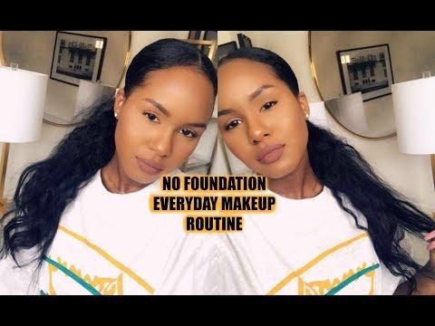 Xxx Mp4 NO FOUNDATION Everyday Makeup Routine 3gp Sex