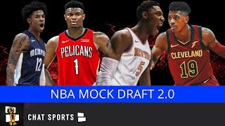 2019 NBA Mock Draft | All 30 1st-Round Picks v2.0