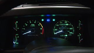 Mustang Scott Drake LED Gauge Light Kit Installation 1979-1993