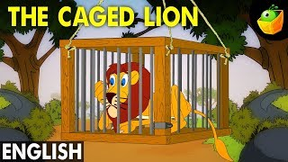The Caged Lion - Hitopadesha Tales in English - Animation/Cartoon Stories For Kids
