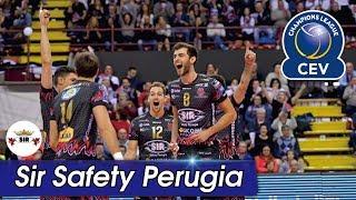 [Points] SIR SAFETY PERUGIA vs. Lube Civitanova | CEV 2017
