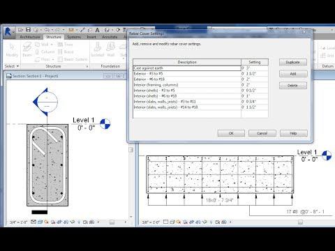 REVIT Structural Rebar Cover Tutorial - CADclip