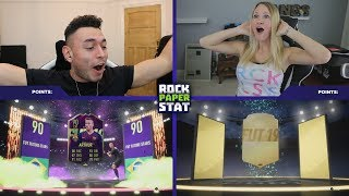 OMG WE PACKED 90 RATED FUTURE STAR ARTHUR IN ROCK PAPER STAT vs Fangs 🔥 (INSANE FUTURE STARS PACK)