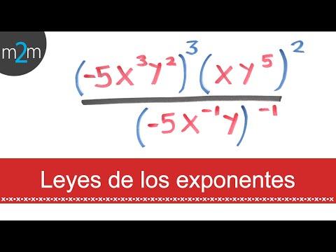 Leyes de los exponentes│ejercicio 7