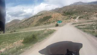 BMW R1200GSA,  Ride from Chalus to Badab Soort Hot Springs,  Iran May 2016