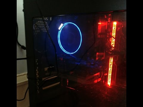 AMD Wraith Max RGB default color loop.