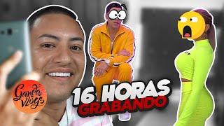 16 HORAS GRABANDO UN VIDEO Y PASA ESTO 😱🔥 + RETO   Ganda Vlogs