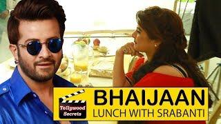 Shakib khan having Lunch with Srabanti||Bhaijaan Elore Behind the scenes||Tollywood Secrets