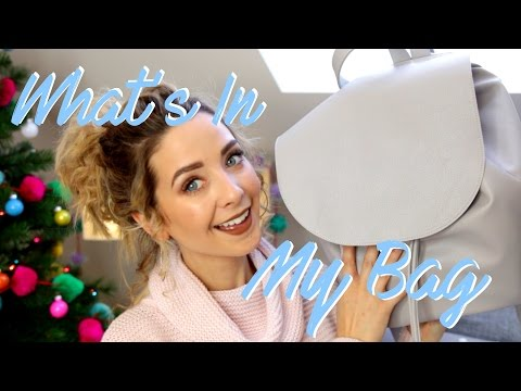 What s In My Bag 2016 Zoella