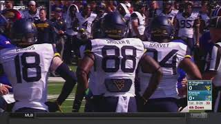 NCAAF 09 23 2017 West Virginia at Kansas 720p60