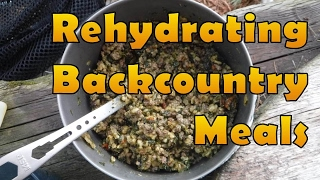 Rehydrating Backcountry Meals