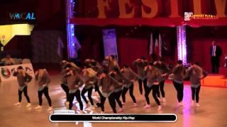 2014 FestivalDanza  Saturday - WDC Championship Hip Hop - Video Clip Dance - Finals