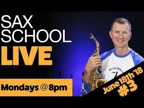 Xxx Mp4 Sax School LIVE No3 16th June 2018 3gp Sex
