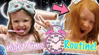 OUR NIGHT TIME ROUTINE - WHEN ISABELLE IS AWAY!