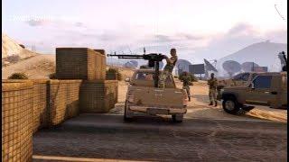 قراند 5 -  قراند 5 -  الحرب العالميه على داعش ليبيا - gta v pc