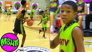 4'8 Eighth Grader is SCARED OF NOTHING - Dominique Wyatt Full Highlights at MSHTV Camp