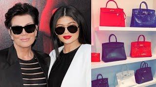 Kylie Jenner Shows Off Kris Jenner's Closet Full Of Birkin Bags