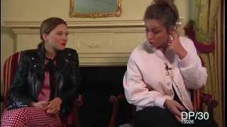 Léa Seydoux and Adèle Exarchopoulos Blue Is The Warmest Color DP30 interview