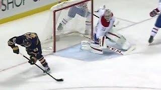 NHL No Look Shots