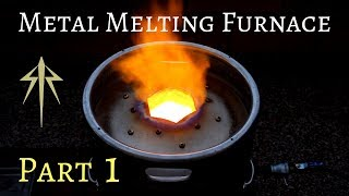 How to Make a Metal Melting Furnace│Foundry Build Detailed│Part 1