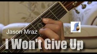 Jason Mraz - I Won't Give Up - easy guitar lesson