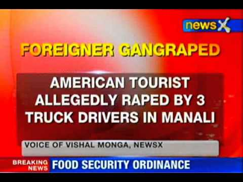 American tourist gangraped by three truck drivers