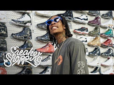 Xxx Mp4 Wiz Khalifa Goes Sneaker Shopping With Complex 3gp Sex