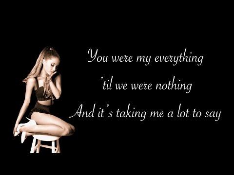 Ariana Grande - My Everything (Lyrics+Official Audio)