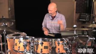 Steve Smith: Pathways of Motion: Sample Lesson - Paradiddle Combinations