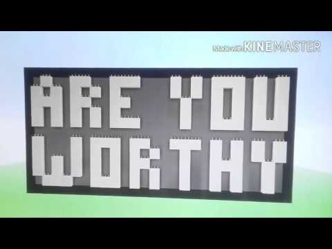 minecraft xbox 360 | Map review | Are you worthy