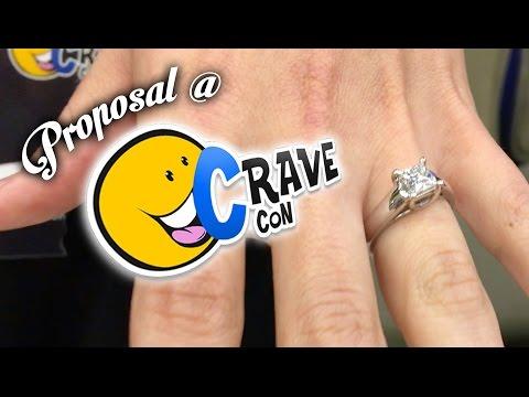 JP Proposes at CraveCon VOMIT ALERT