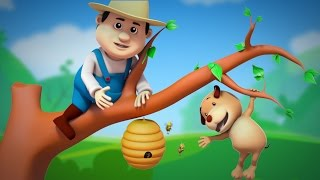 this old man | nursery rhymes farmees | children song | 3d rhymes | kids videos