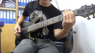 Allegaeon - All Hail Science (Guitar Cover)