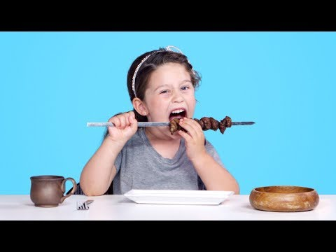 Kids Try Ancient Recipes Kids Try HiHo Kids