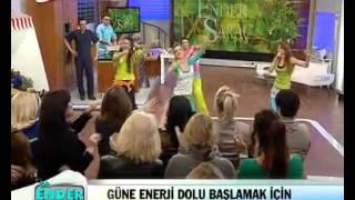 Zumba on Kanalturk TV 21.03.2013