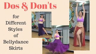 Dos & Don'ts for Different Styles of Belly Dance Skirts
