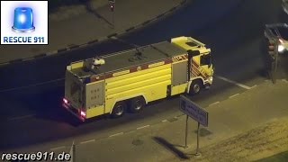 [Dubai Civil Defence] Fire response Al Satwa Fire Station