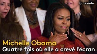 Quatre fois où Michelle Obama a crevé l