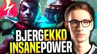 BJERGSEN Showing the POWER of EKKO MID! - TSM Bjergsen Picks Ekko Mid! | Be Challenger