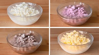 Liquid Nitrogen Ice Cream 4 Ways