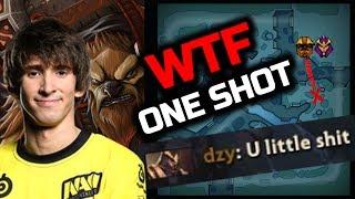 Dendi Earthshaker WTF One Shot Silencer with X-Mark Combo - IMBA Dota 2