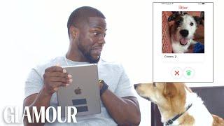 Kevin Hart Hijacks His Dog's Tinder Account | Glamour
